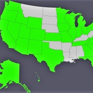 Followers and Readers of this site are from these GREAT 37 green states + the District (D.C.). Wanna see the USA go green? Activate your friends to become readers and followers of this site, and together we make the USA a greener place!